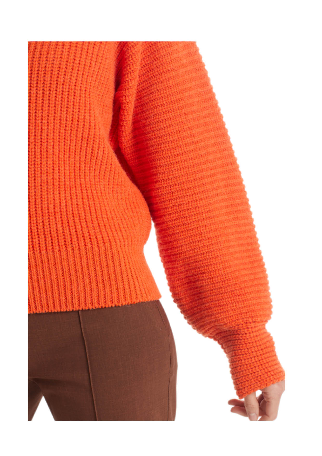 Perlfangstrickpullover Knitted in Germany